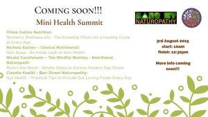 Mini health Summit Barr St Markets